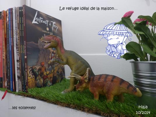 allosaure et triceratops