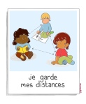 garder ses distances